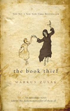 The Book Thief by Markus Zusak I've been wanting to read this for a while! Need to get on that soon.