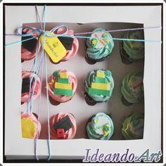 Cupcakes de cumpleaños by IdeandoArt