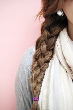 How To: The Four Strand Braid / Perfect dressed up for the office or dressed down for the weekend #hair