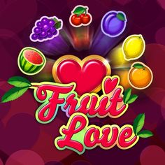 Play Fruit Love by Gamomat > Fruit Love, Online Casino Games, Neon Signs, Play