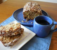 This Oatmeal Raisin Swirl Bread is wonderful served with coffee for breakfast. I love anything with oats and raisins and the glaze really adds to the recipe. Kids will love this with a glass of mil…