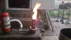 waste oil burner