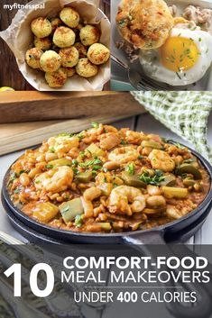 10 Comfort-Food Makeovers Under 400 Calories ‹ Hello Healthy