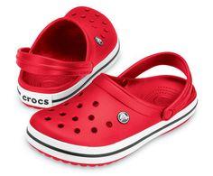 e35caf85d BUTY KLAPKI CROCS CROCBAND 11016 RED Red Crocs