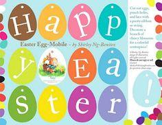 Free printable Easter banner.