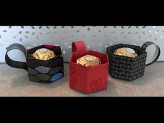 Anleitung: Mini-Tasse für einen Rocher mit stampin' up! - YouTube