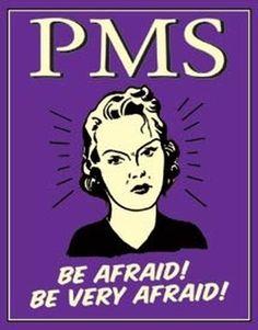 Tin Sign PMS - Be Very Afraid