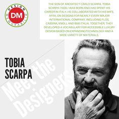 #MeetTheDesigners #DesignMemorabilia #Italy #creative #design #gift #kitchenware #kitchen #homedecor #home #TobiaScarpa