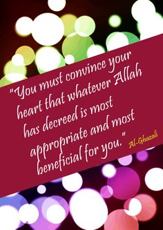 quote about predestination and the heart islamic posters free