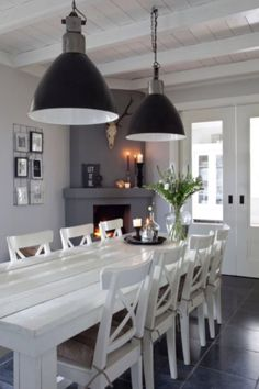 """This dining room is from our feature """"Statement of Style"""""""