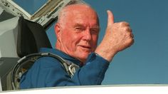 Astronaut John Glenn was diagnosed and treated for glaucoma early enough to save his vision.