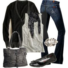 cute fall and winter outfit!
