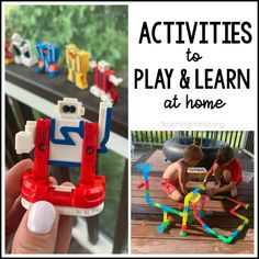 Activities to Play and Learn at Home Play Based Learning, Learning The Alphabet, Learning Through Play, Learning Toys, Infant Activities, Educational Activities, Preschool Activities, Kindergarten Learning, Teaching