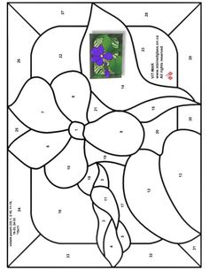 Stained Glass Patterns for FREE  977 Floral.jpg
