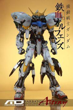 GUNDAM GUY: MG 1/100 Gundam Barbatos Astray - Conversion Build