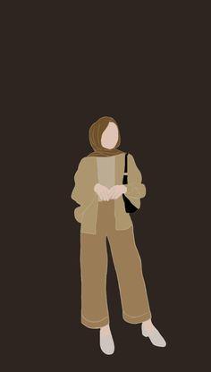 Cartoon Girl Images, Girl Cartoon, Cartoon Styles, Cartoon Art, Hijab Drawing, Islamic Cartoon, Hijab Cartoon, Anime Girl Drawings, Cute Cartoon Wallpapers