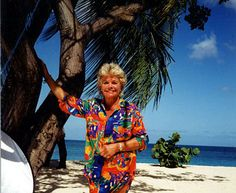 ITV's 'Wish you were here' with Judith Chalmers. I never thought I'd end up going to a lot of these countries!