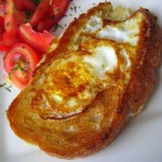 Φανταστικό και πανεύκολο τηγανητό ψωμί, με αυγό και μυρωδικά