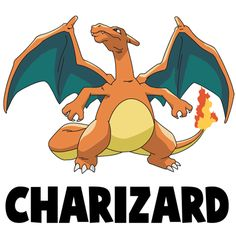 How to Draw Charizard from Pokemon with Easy Steps