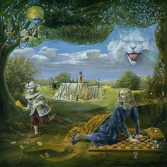 Michael Cheval - ... that cat in the clouds!