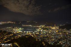 Rio à noite / Rio in the night - Rio de Janeiro