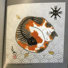 Monmon Cats book, page 49!  #monmoncat #monmoncats #cat #cats #cattattoo #catart #tattooedcat #tattooedcats #teboricats #neko #horitomo #tattoos