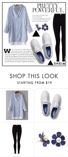 """""""NEW SHEIN CONTEST WIN $30"""" by dz-eminaa ❤ liked on Polyvore featuring Keds and Lipsy"""