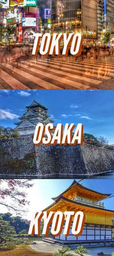 Tokyo, Kyoto, Osaka Travel Itinerary and guide. One week in Japan Ultimate List of things to do #JapanTravel