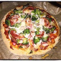 Szafi Fitt szénhidrátszegény paleo pizza recept (gluténmentes, maglisztmentes…