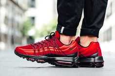 Look Out For The Nike Air Max 95 Ultra SE Gym Red