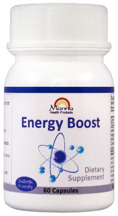 MANNA ENERGY BOOST CAPS 60