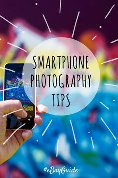 Smartphone Photography Gadgets & Tips | The best camera is the one you have with you. Your smartphone is always with you I'll bet! So, learn how to take better photos using your smartphone.  /ebay/ #eBayGuide #Sponsored