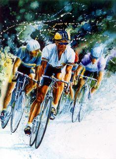 Tour de France ~ Koehler Art Studio Gallery