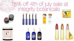 15% off Everything!  Sale today only!  Details on my twitter feed! Cut + paste if it doesn't just link: https://twitter.com/GreenProdJunkie