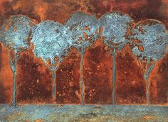 Contemporary Abstract Patina Art by Igor Turovskiy | Modern Masters Metal Effects