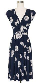 Trashy Diva 1940's Dress cg-d03-midnightinparis
