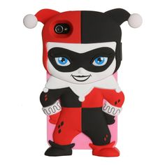 Harley Quinn iPhone 4/4S Case -would be cool as a Lisa Frank character!