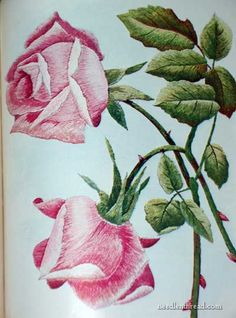 Antique Silk Embroidery Book http://www.needlenthread.com/2010/05/hand-embroidery-lessons-past.html