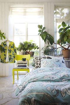 PÅSLAKAN   Gunila Axén Design Rustic Modern, Interior Styling, Rustic Decor, Scandinavian, Comforters, Ikea, Decorating, Blanket, Design