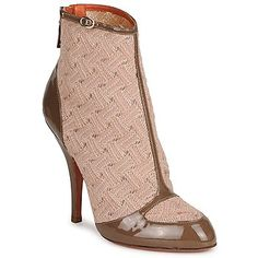 High heeled ankle boots by MIssoni that are just LOVELY! #shoes #booties #ankleboots #heels #luxury #missoni #fashion #uk