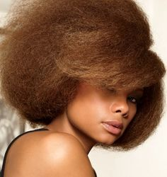 Her color is fierce. A blowout on natural hair just says beautiful and confident to me.