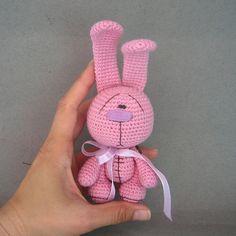 Amigurumi crochet Candy Bunny pattern PDF pattern от crochetorium