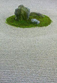 zen garden, japan.