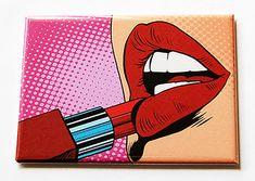Pop art lips and heels duo. Acrylic painting in canvas. Pop Art Drawing, Art Drawings, Heart Painting, Diy Painting, Funky Town, Diy Mirror, Mirror Glass, Desenho Pop Art, Pop Art Lips