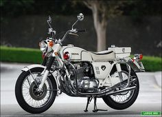 1970 Honda CB750P, Japanese-Only Police Special,,,