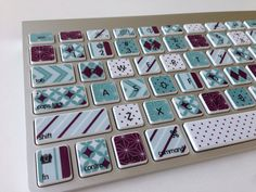 Personalize your keyboard while adding a layer of protection and style at the same time. This skin is easy to apply as each key has its own