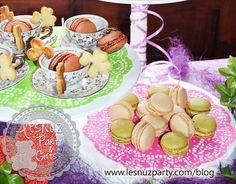 Macarons y galletas de colgar - Macarons and hang cookies