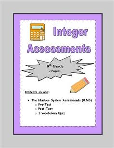 Included is a pre-test, post-test, and vocabulary quiz on the 8th grade Common Core math standard Number Sense.  Students will be determining if a number is a rational or irrational, taking the square roots of rational and irrational numbers, converting fractions to decimals, and converting repeating decimals into fractions.