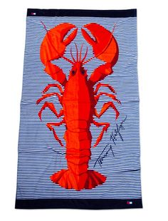 TOMMY HILFIGER BEACH TOWEL, I just really like this :)