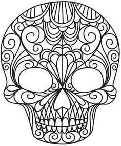 Super cool Day of the Dead designs for hand embroidery (or quilting?) ...beautiful.